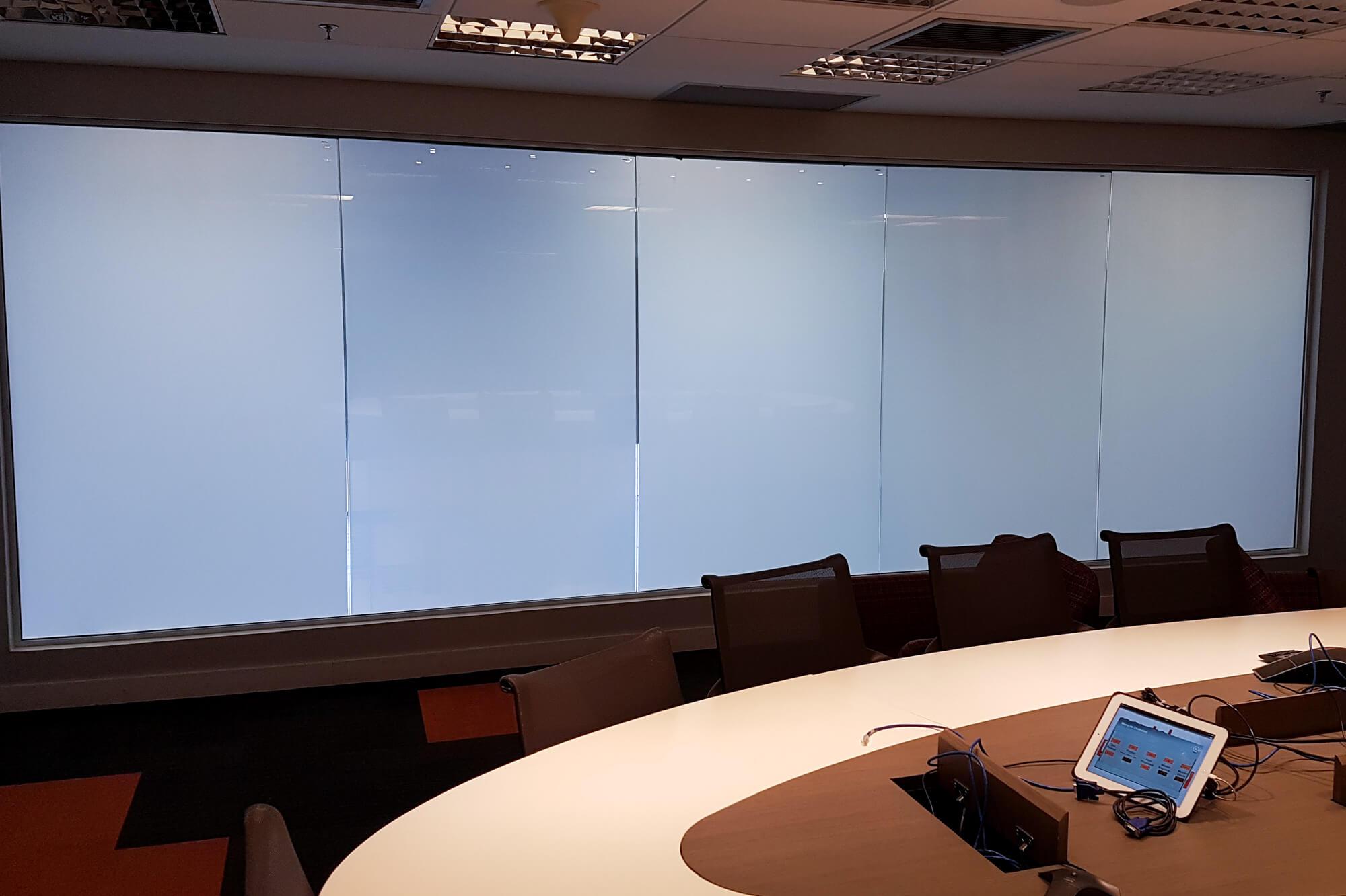 banner vidros polarizados desligado
